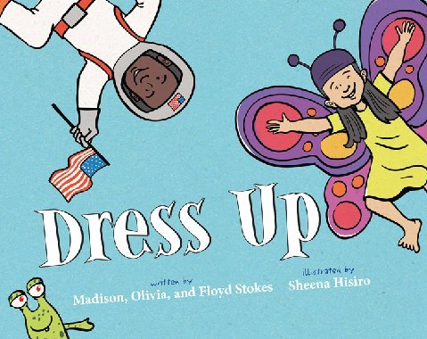 Dress Up book cover.