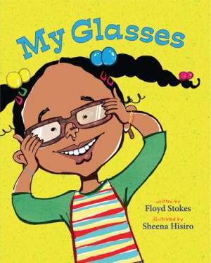 My Glasses book cover.